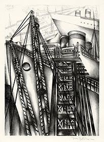 Harbor, Industrial, WPA