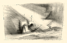 sailing ships, cubism. german expressionism