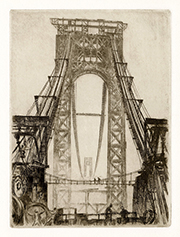 Construsction, George Washington Bridge, Mean at Work, New York City