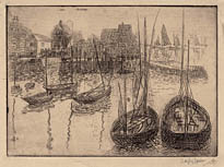 Harbor, Fishing Boats, Concarneau, France