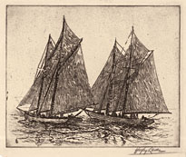 Yacht Race, Sailboats