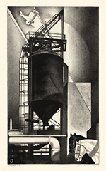 industrial age, modernism, precisionism
