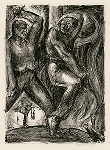 Lynching, Racial Injustice, WPA, American Expressionism