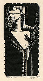 Romance, Couple, Sex, Nude, Modernism, Art Deco, Precisionism